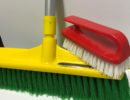 Broom Mop 350mm with handle and handi scrub